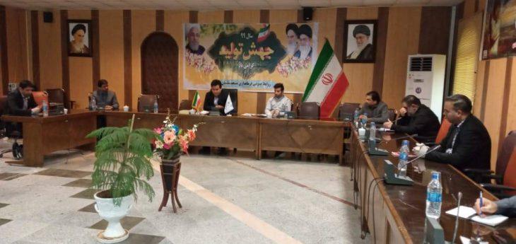 جلسه هماهنگی جابه جایی مناطق آلوده به نفت و گاز شهرستان مسجدسلیمان برگزار شد