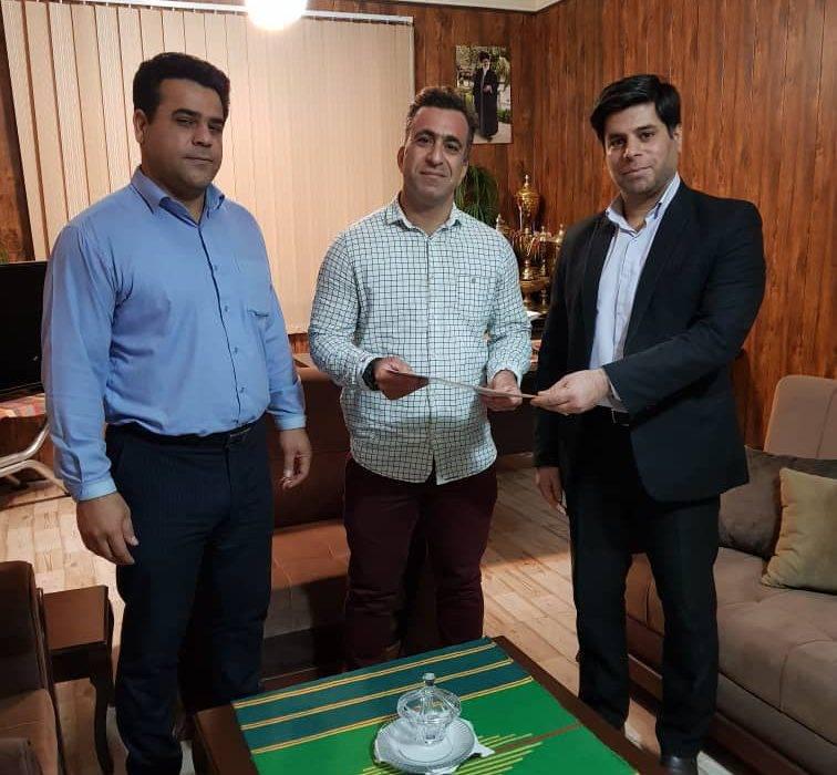 معرفی سرپرست جدید هیئت وزنه برداری شهرستان مسجدسلیمان