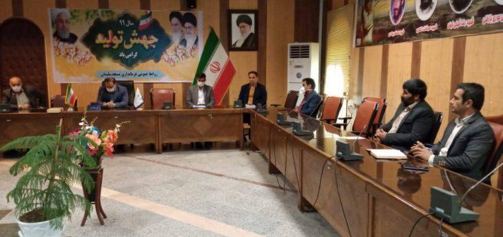 فرماندار مسجدسلیمان،مصمم برای حل مشکلات بازاریان و صنوف