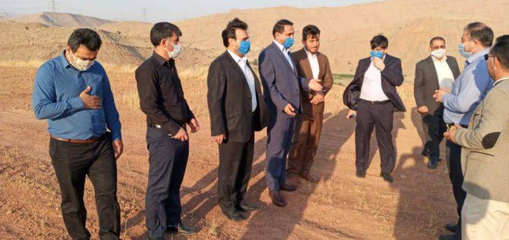 بازدید مدیرکل مخابرات استان خوزستان از نقاط مهم فاقد پوشش شبکه همراه و اینترنت در شهرستان مسجدسلیمان