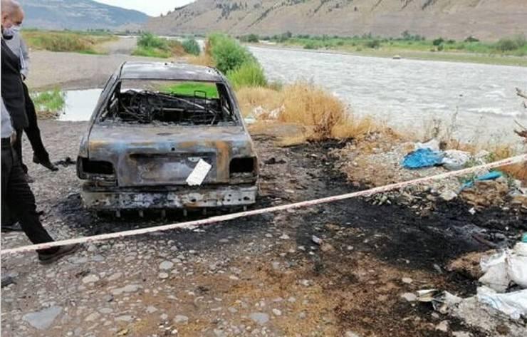 در پی مرگ زنی جوان در بیمارستان، شوهر او خودش و پسر ۷ سالهاش را به آتش کشید