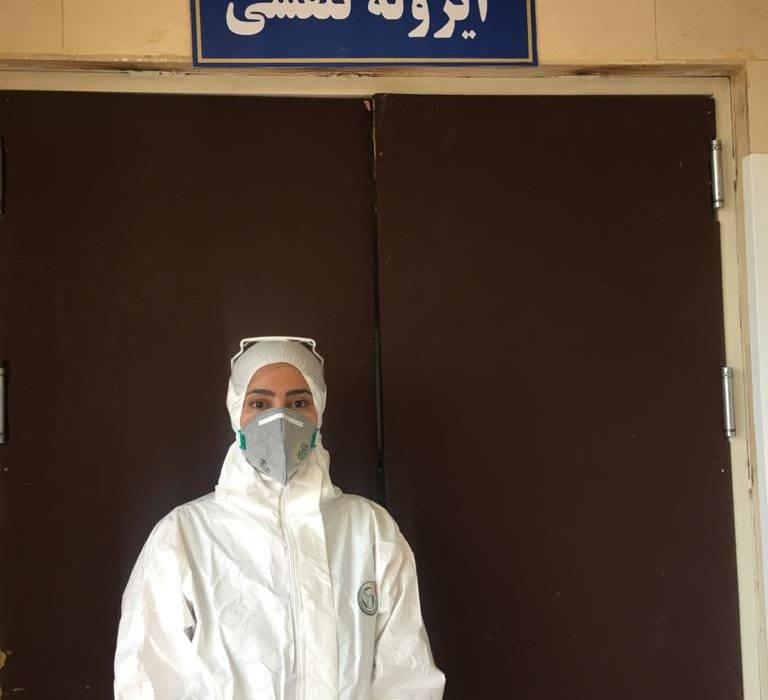 مصاحبه سرپرستار بخش ایزوله تنفسی بیمارستان ۲۲ بهمن با برنامه شبهای کارون