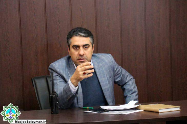 نامه بازگشت به کار نوید شعبانی شهردار سابق مسجدسلیمان صادر شد