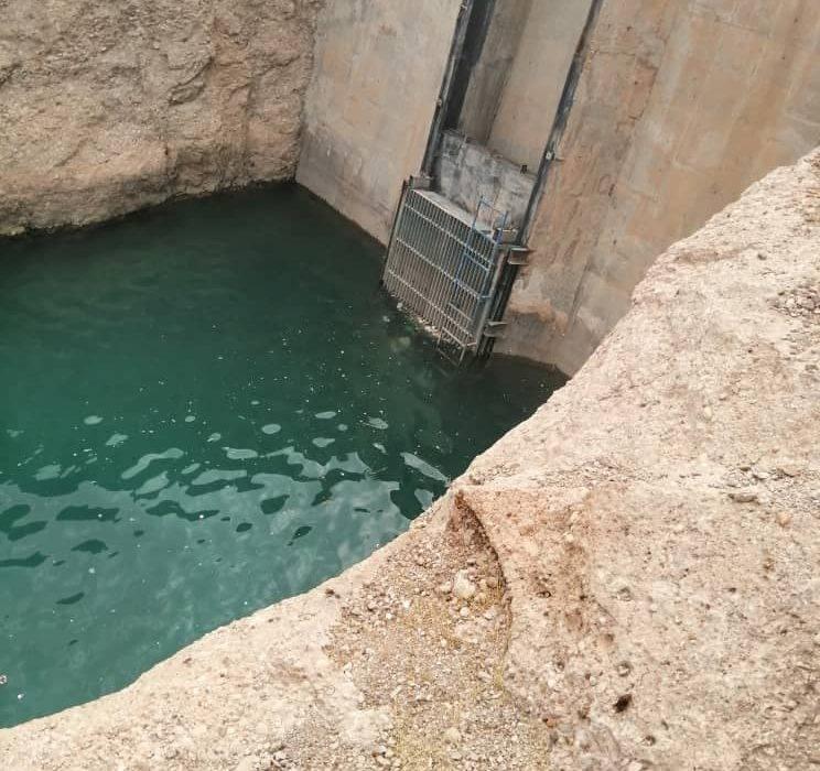 پروژه لایروبی ورودی آب تاسیسات شهید بهنام محمدی( گدار )انجام شد+تصاویر