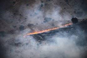 کوه دلا همچنان در آتش  میسوزد