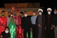 اجرای نمایش تعزیه در روز شهادت امام رضا(ع) در محل آستان مقدس شهدای گمنام نفتک برگزار شد.