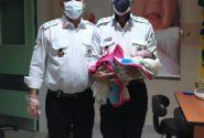 نوزاد عجول مسجدسلیمانی درآمبولانس  ۱۱۵بدنیا آمد