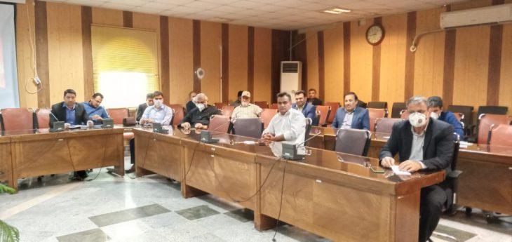 جلسه ستاد پیشگیری،هماهنگی و فرماندهی پاسخ به بحران شهرستان مسجدسلیمان برگزار شد