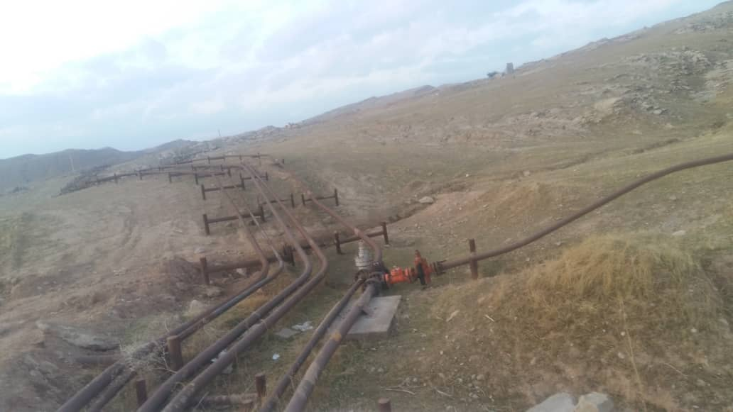 مسیر صعب العبور روستای آبزالو عرب