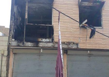 انفجار منزل مسکونی در نمره یک+عکس