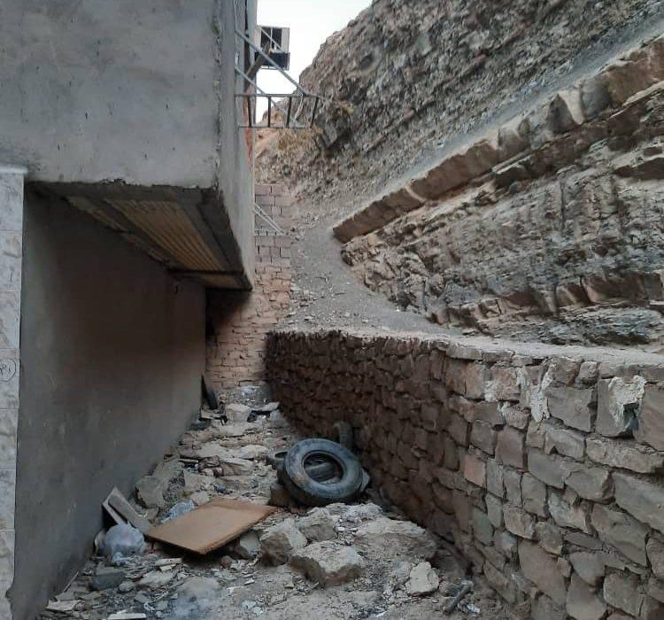 وضعیت تپه رانشی نفتک از قاب تصویر شهروندان