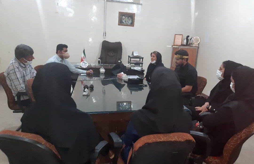 جلسه هم اندیشی معاون اداره ورزش و جوانان با هیئت بسکتبال شهرستان مسجدسلیمان برگزار شد