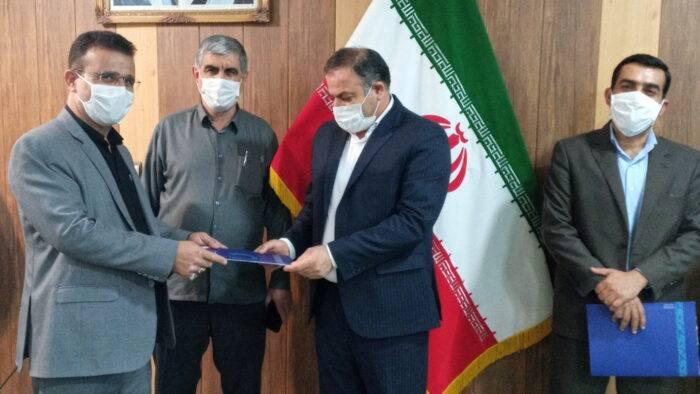انتصاب سرپرست اداره آب وفاضلاب در مسجدسلیمان