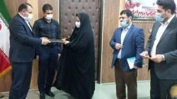 انتصاب ریاست  جدید اداره تعاونی روستایی شهرستان مسجدسلیمان