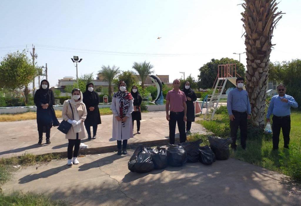 اجرای برنامه های پاکسازی به مناسبت روز جهانی پاکسازی زمین