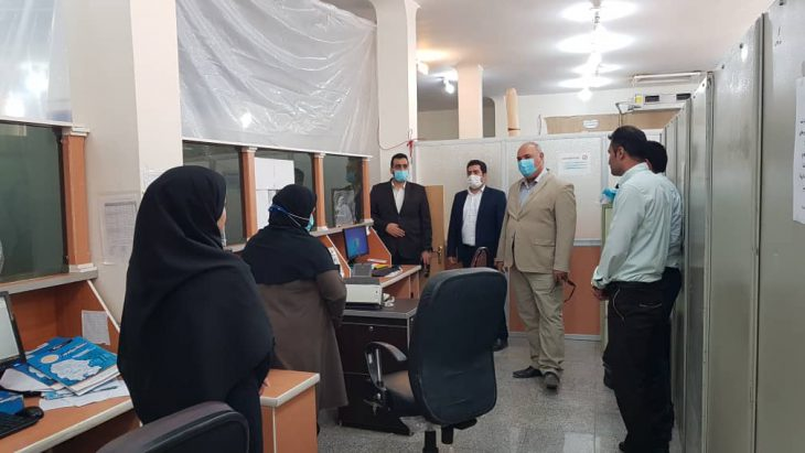 بازدید دکتر اقبالی رییس دانشگاه پیام نوراستان خوزستان و جمعی از مدیران ستادی از واحدهای ایذه و هفتکل