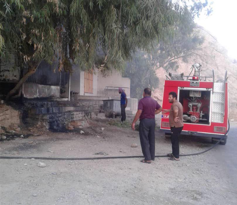 حریق افتاده به جان منطقه سرگچ روستای کریم آباد با کمک پرسنل آتش نشانی سد و نیروگاه مسجدسلیمان اطفاء شد.