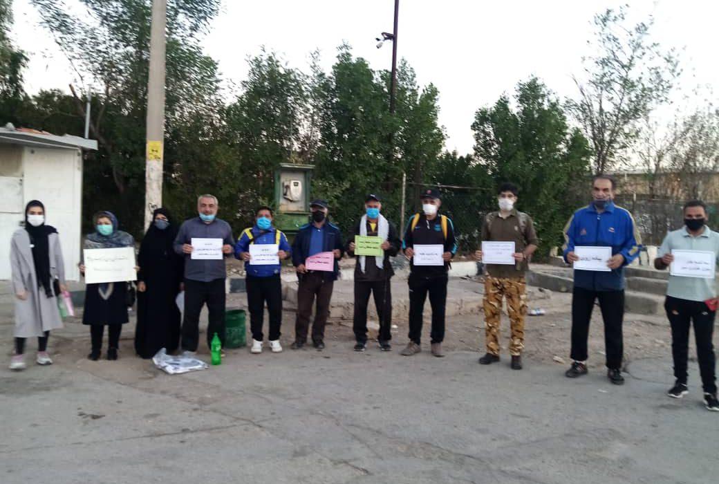 اجرای برنامه ی پیاده روی بزرگ سه شنبه های سبز بدون خودرو