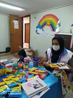 کمک مومنانه به دانش آموزان مناطق محروم شهرستان دزفول