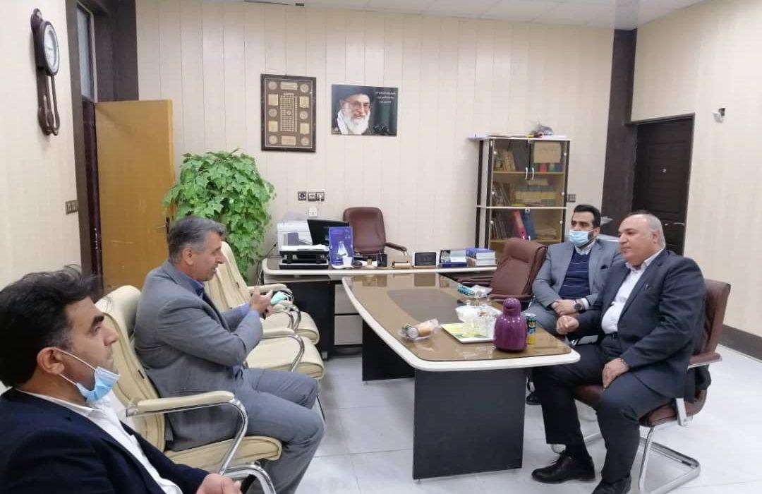 بازدید رییس دانشگاه پیام نور استان خوزستان از مرکز رامهرمز