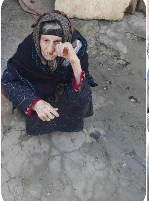 پیرزن مسجدسلیمانی منتظر نگاه ویژه مسولین و مردم