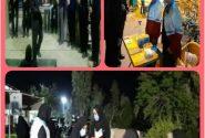 مراسم ایام فاطمیه و گرامیداشت شهدای سلامت و شهدای گمنام مقاومت، در مسجد شهید آباد دزفول برگزار گردید.