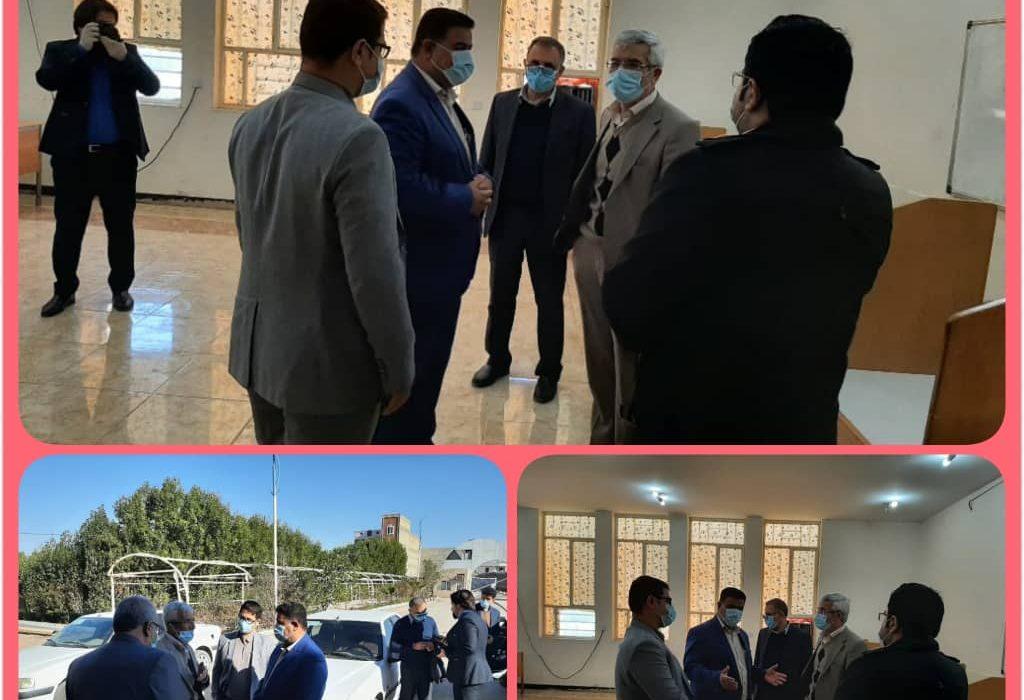 بازدید دکتر رحیمی معاون وزیرعلوم تحقیقات وفناوری از دانشگاه پیام نور مرکز سوسنگرد