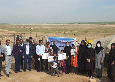 اجرای فعالیت های فرهنگی «طعم کتاب با عشایر» در شهرستان شوشتر