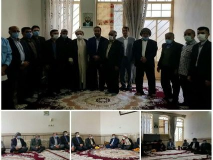 دیدار با خانواده شهدای انقلاب توسط دانشگاه پیام نورمرکز دزفول