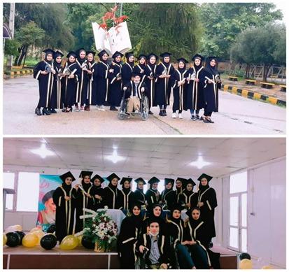 جشن فارغ التحصیلی دانشجویان رشته زیست شناسی دانشگاه پیام نور مرکز دزفول برگزار شد.