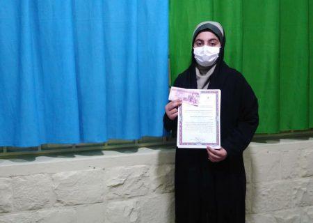 کسب مقام اول مسابقات قرآن و عترت و نماز توسط دانش آموز مسجدسلیمانی