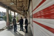 کلیه اصناف در بازار مرکزی شهرستان مسجدسلیمان با نظارت های مستمر،تعطیل شدند +تصاویر