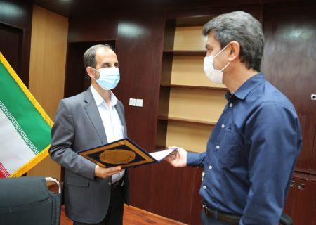 مراسم تودیع و معارفه رئیس اداره برنامه ریزی شرکت نفت وگاز مسجدسلیمان برگزار شد
