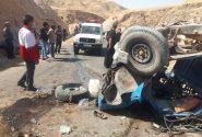 واژگونی خودرو در مسجدسلیمان پنج کشته بر جای گذاشت+همراه باتصاویر